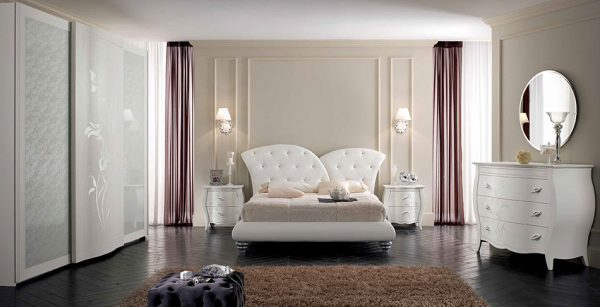 Classic Bed / Bedroom Set Florence 02 by Spar Italy