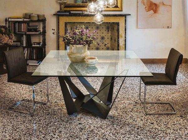 Skorpio Square Dining Table by Cattelan Italia