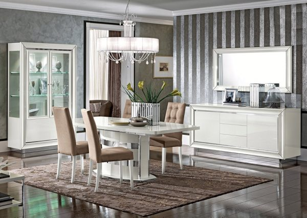 EF-Dama Bianca Italian Dining Table by Camelgroup