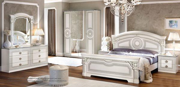 Classic Italian Bedroom EF-Aida White by Camelgroup