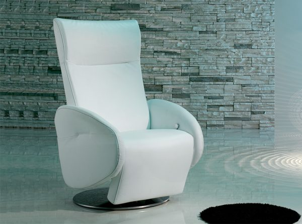 Italian Recliner Chair Champion by IL Benessere