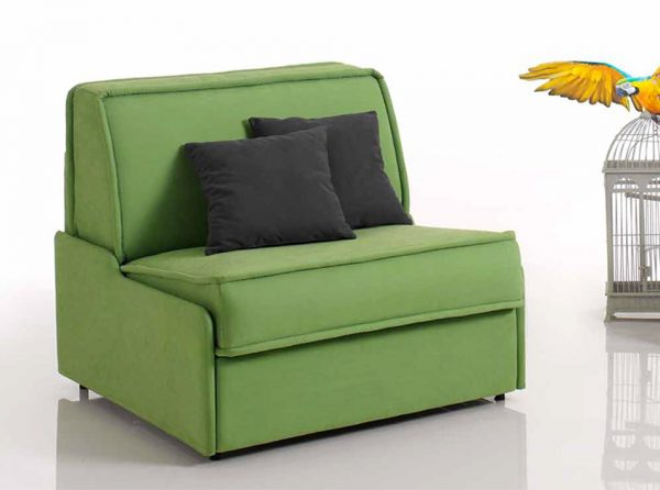 Modern Chair-Bed Young by Vitarelax, Italy
