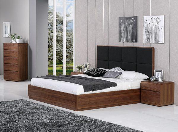 Anthrop Platform Bed by Beverly Hills