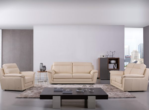 Modern Sofa S210 Beige by Beverly Hills