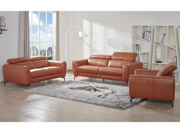 Cooper Leather Sofa by J&M Furniture