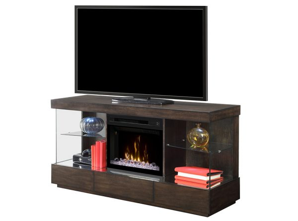 Camilla Electric Fireplace TV Stand by Dimplex