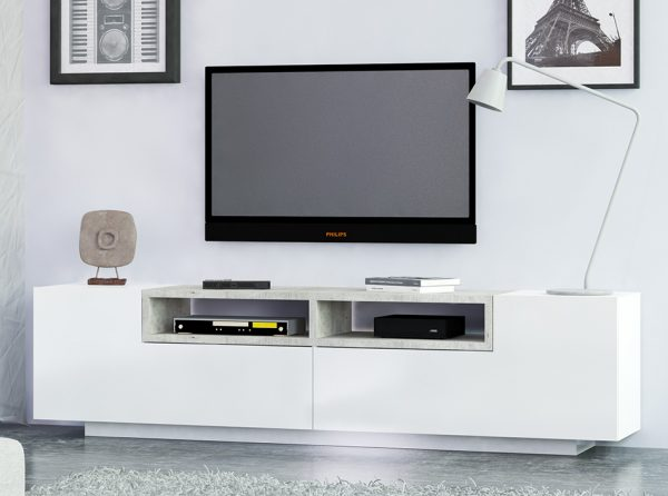 Modern TV Stand JILL   Made in Italy