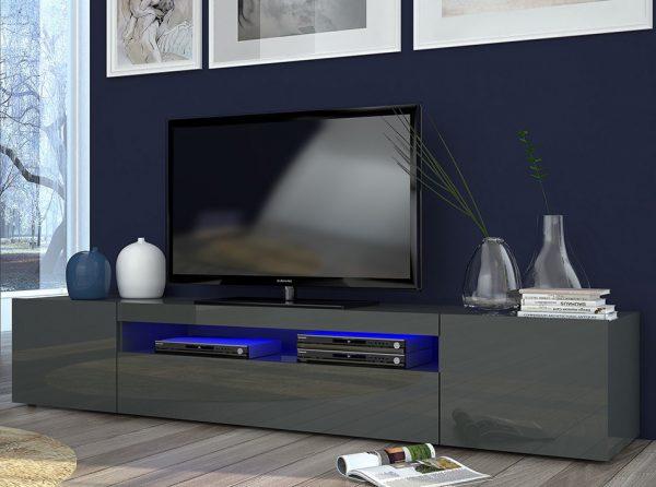 Italian TV Stand DURI-79 Anthracite
