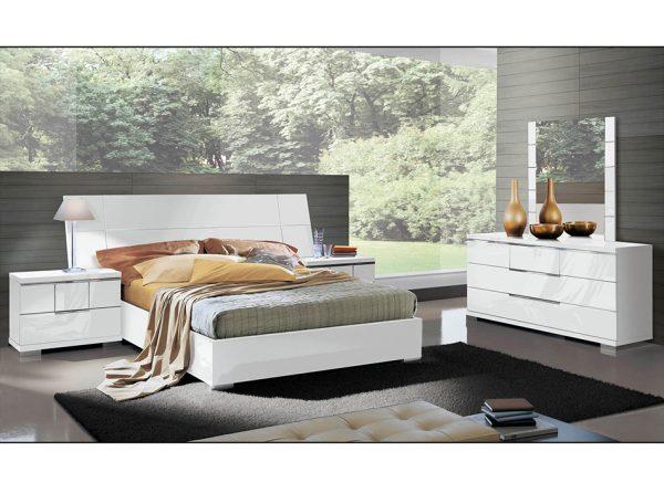 ASTI Italian Bed / Bedroom Set by ALF Group