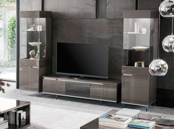 Athena TV Stand / Entertainment Center by ALF Group
