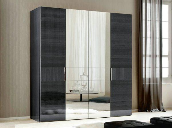 Italian 4-Door Wardrobe MonteCarlo by ALF Group