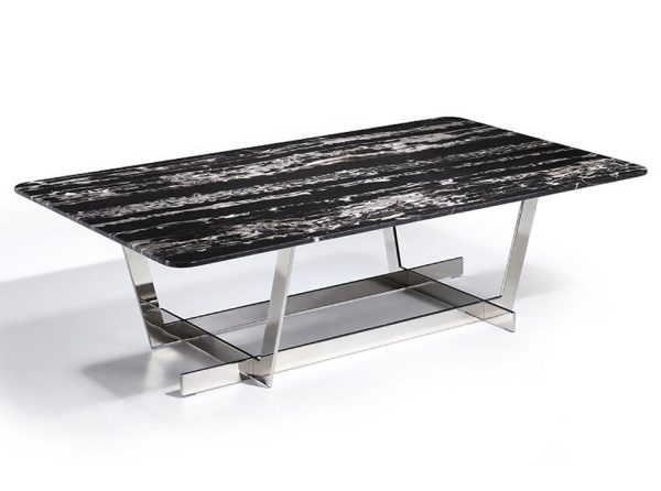 Carrara Marble Coffee Table by J&M Furniture