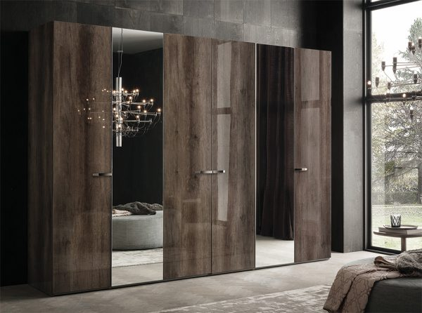 Italian 6-Door Wardrobe Matera by ALF