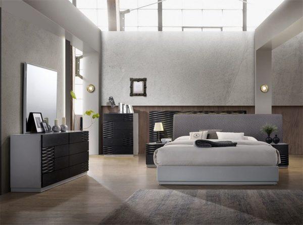Tribeca Modern Bedroom by J&M Furniture