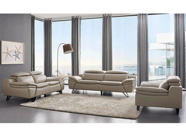 Modern Leather Sofa EF-973