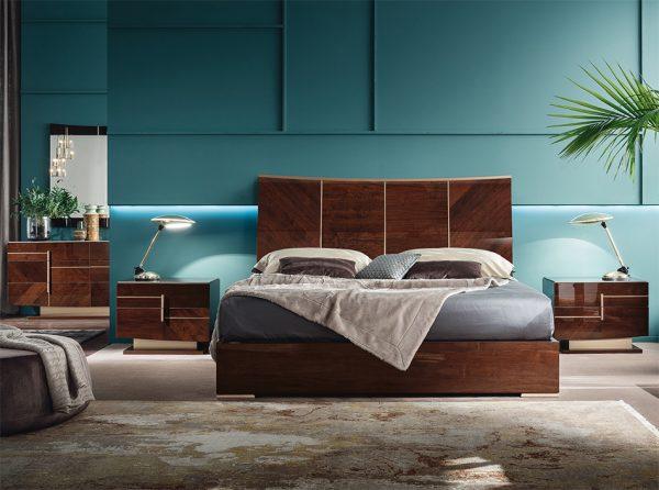 Bellagio Bed / Bedroom Set by ALF Italia