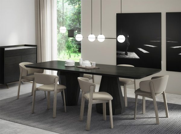 Memento Rectangular Dining Table by HUPPE