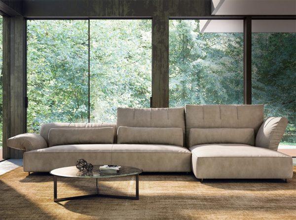 Italian Sectional Sofa Brera by Nicoline