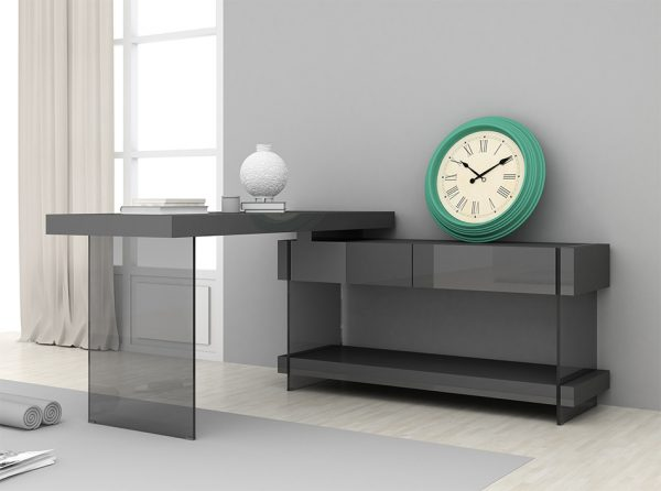 Modern Office Desk Cloud by J&M Furniture