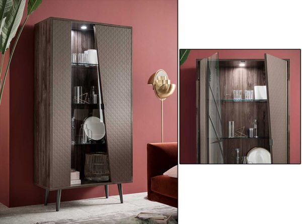 Frida 2-Door Curio Cabinet by ALF Italia