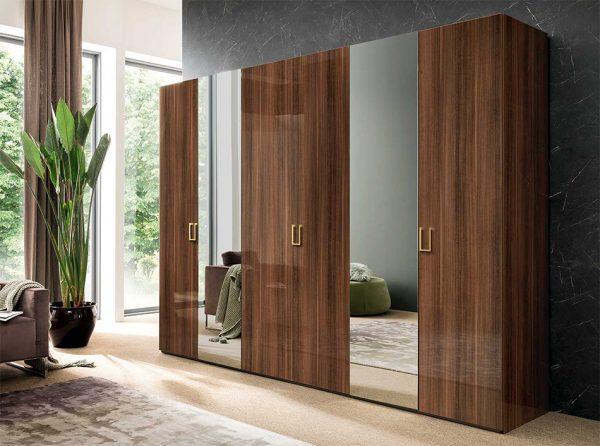 Mid Century 6-Door Wardrobe by ALF Italia