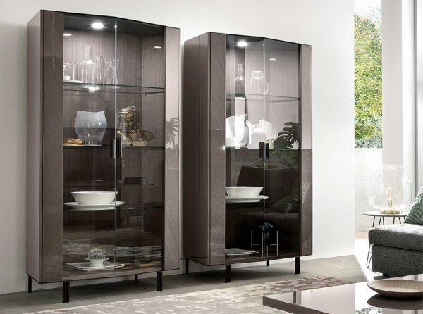 Olimpia 2-Door Curio Cabinet by ALF Italia