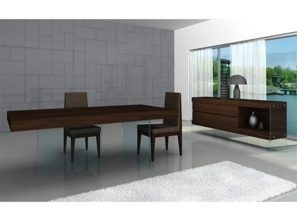 Dining Table Float by J&M Furniture