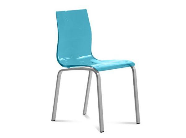 Modern Dining Chair Gel R by DomItalia