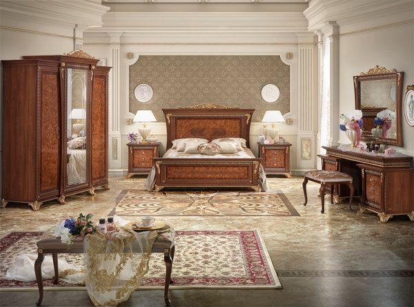 Classic Italian Bedroom AIDA by MobilPiu