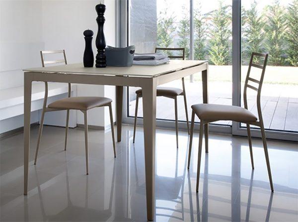 Contemporary Italian Chair Slim by DomItalia
