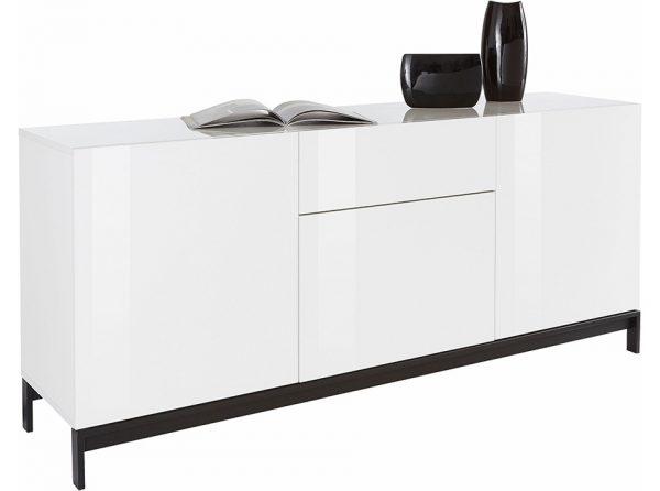 Modern High Gloss Sideboard Moris 67   Made in Italy
