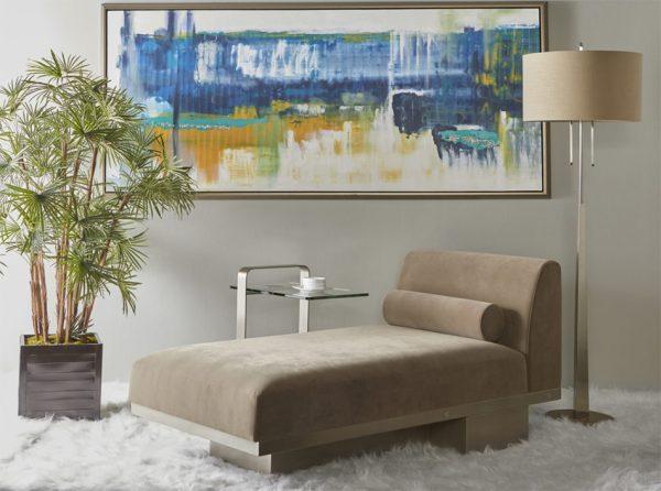 Contemporary Chaise Lounge Milo | Elite Modern