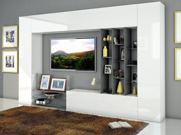 Contemporary Wall Unit Entertainment Center EGO-B   Italy