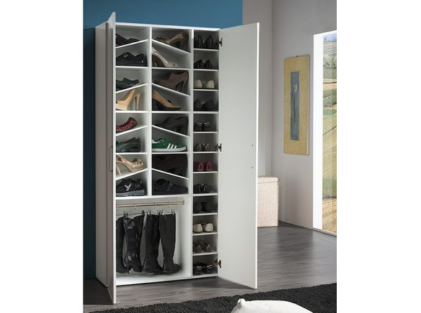 Large Modern Shoe Cabinet Lady | Made in Italy