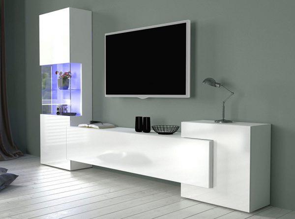 Modern Elegant Wall Unit / TV Stand New Incastro