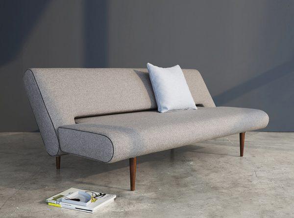 Innovation Armless Sofa Bed Unfurl