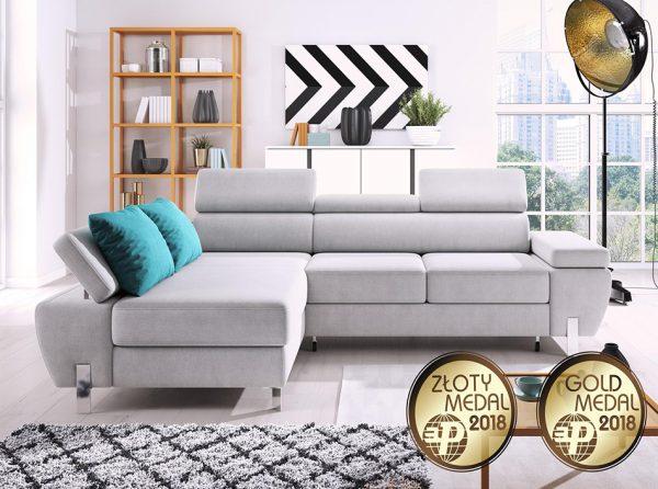 Molina Mini Corner Storage Sleeper Sofa