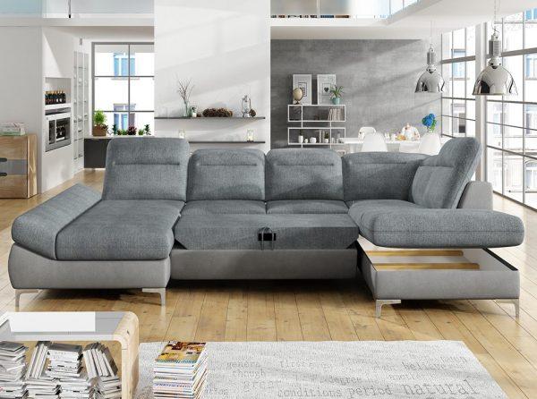 Timola XL Large Storage Sleeper Sofa
