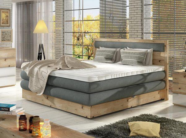 Wooden Storage Box Spring Bed Diori