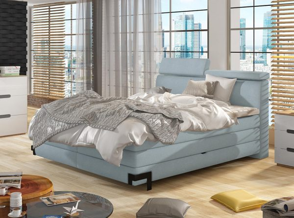 European Box Spring Bed Kano