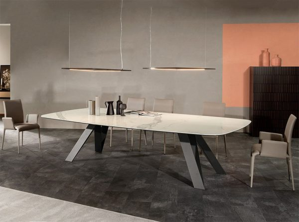 Celtis Ceramic Dining Table by Tonin Casa