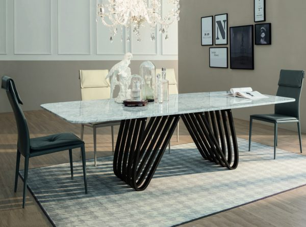 Arpa Dining Table by Tonin Casa