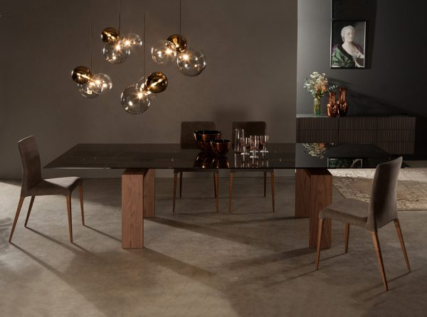 Brooklyn Extendable Dining Table by Tonin Casa